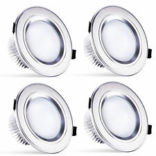 4 x 15W 110V LED Recessed Ceiling DownLight Low power Round Bulb Lamp Warm White