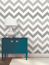 Chevron Zig Zag Grey NU1934 NUWallpaper Peel and Stick