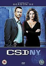 CSI NY - New York - Complete Season / Series 2 - DVD