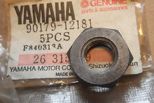 YAMAHA DT80 GT80 MX80 YZ80 GT1 GTMX GENUINE FRONT SPROCKET NUT - # 90179-12181