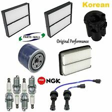 Tune Up Kit Filters Wire Set Plugs for Hyundai Santa Fe 2.4L 2001-2004