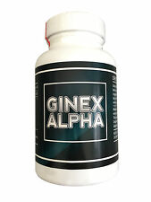 Ginex Alpha - MAN BOOB (Gynecomastia) TREATMENT! Fat Burner 240capsules