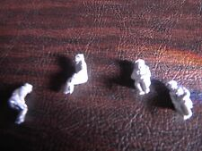 SGTS MESS VC22 1/72 Die-Cast Four WWII Sitting German Figures