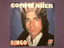"""Ringo - Comme Hier (7"""" single) picture sleeve juke box French issue 49.212"""