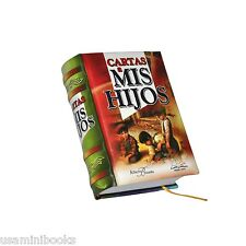 New Miniature Book in Spanish Cartas a mis Hijos Hardbound readable