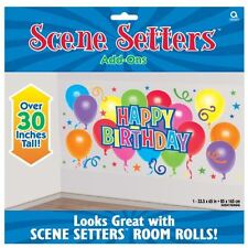 General Happy Birthday Scene Setters Balloon Party Decorations