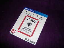 PLAYSTATION PS4 Alien Isolation UK STEELBOOK EDITION BRAND NEW SEALED