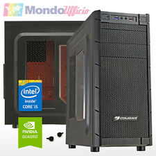 PC Computer WORKSTATION Intel i5 7400 - Ram 16 GB DDR4 - HD 2 TB - Quadro K620