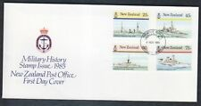 New Zealand 1985 Naval History Ships FDC First Day Cover #C12999