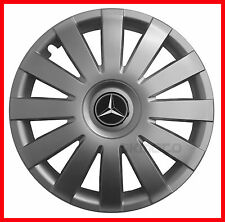 "16''  Hub caps Wheel trims for MERCEDES VITO , SPRINTER  4x16""  - silver"