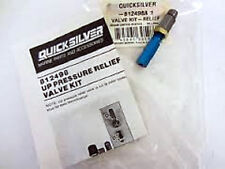 GENUINE QUICKSILVER MERCRUISER MERCURY TRIM MOTOR UP PRESSURE RELIEF VALVE KIT
