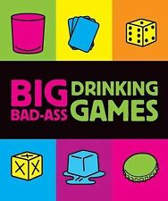 Running Press - Big Bad Ass Drinking Games (2009) - New - Trade Paper (Pape