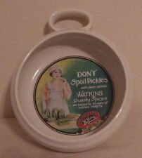 Watkins Heritage Collection Don't Spoil the Pickles Soup Bowl Dish 7901 5""