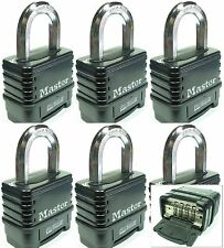 Combination Lock Set by Master 1178D (Lot 6) Resettable Weather Sealed Carbide