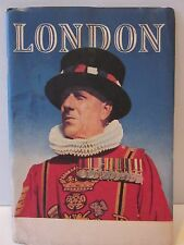 Vintage 1952 Edition LONDON Travel Booklet with Maps & Historical Site Guide