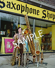 UNIQUE SAXOPHONE PHOTO SAXOPHONE FAMILY
