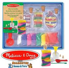 Melissa & Doug Sand Art Bottles Activity Craft Fun Girls Boys Gift Toy Set Beach