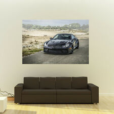 Poster of Mercedes SL65 AMG Black Series on 360 Forged wheels Huge 54x36 Print