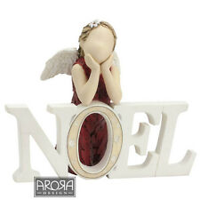 More than Words   NOEL Christmas Figurine NEW in BOX 17990