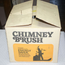 10 Inch Wire Chimney Brush New Old Stock in Box