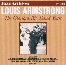 CD NEUF scellé - LOUIS ARMSTRONG - THE GLORIOUS BIG BAND YEARS 1937/1941 -C22