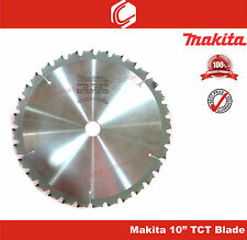 "Makita 10"" x 32T TCT Saw Blade Suitable for all 10"" Miter Saws – Aluminum, Wood"