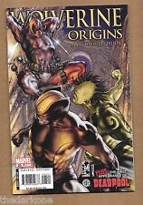 WOLVERINE ORIGINS #25  CONTAINS  NEW MUTANTS 98 REPRINT DEADPOOL