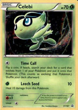 1X Celebi XY187 HOLO FOIL Rare  -XY Black Star Promo- NM- Pokemon Mythical