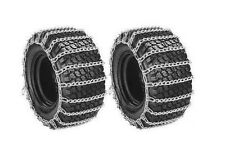 PAIR 2 Link TIRE CHAINS 20x10.00x8 for Sears Craftsman Lawn Mower Tractor Rider