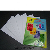 100 sheets gloss 260gsm A4 inkjet glossy photo paper