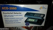 NEW Royal Sovereign 4-Way Ultraviolet and Magnetic Counterfeit Detector RCD-2000