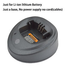 Base no power supply for Motorola CP150 Walkie Talkie Li-ion Battery Charger