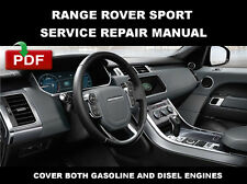 2012 2013 2014 2015 RANGE ROVER SPORT SUPERCHARGED SERVICE REPAIR SHOP MANUAL