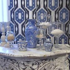 """""""stoffdesign""""goes provence! CHINÉ****bestickter,blauer LUXUS-Jaquard/soleil bleu"""