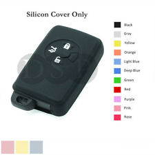 Silicone Cover Holder Shell fit for TOYOTA Smart Remote Key Case 3 BTN 11 CLR BK
