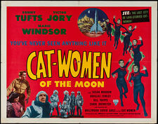 """Cat-Women of the Moon Lobby Card Movie Poster Replica 11x14"""" Photo Print"""