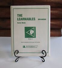 The Learnables Spanish Book 2 Softcover Manual and 6 Audio Tapes