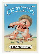Die Total Kaputten Garbage Pail Kids GPK Topps German 1994 #142 Franzi Kloop