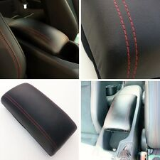 New Scion Frs Subaru Br-z Center Console Arm Rest Black Leather/Red Stitch GT86