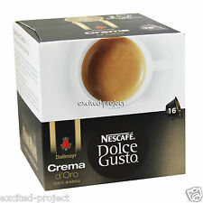 Nescafe Dolce Gusto - Dallmayr Crema d'Oro Coffee Capsules - From Germany