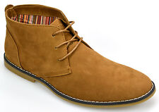 Mens Desert Boots Cavani Branded Suede Leather Casual Walking Chukka Ankle Boots