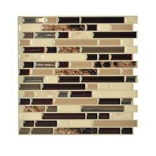Smart Tiles SM1034-1 SELF-ADHESIVE WALL TILES 1/SHEET BELLAGIO KEYSTONE 0.7 sq/f