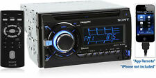 Sony WX-GT90BT Double-Din Bluetooth Multimedia CD Car Stereo Receiver