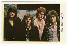 1970s Swedish Pop Star Card #905 British Isn't It Time Rock Group The Babys