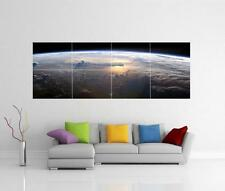 SUNRISE ON EARTH SPACE GIANT WALL ART PICTURE PRINT POSTER H2