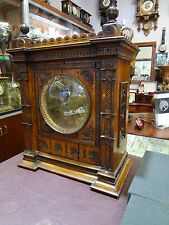 1890's Antique - Key Wound - Gorgeous German Mantle / Table Clock