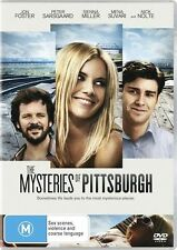 The Mysteries of Pittsburgh DVD = Nick Nolte Sienna Miller =REGION 4 = LIKE NEW