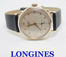 Vintage Solid 14k LONGINES Automatic Watch 1960s Cal.22A Ref 2127*EXLNT SERVICED