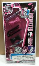 Monster High Freaky Steaky Hair Set NIB 2014 MattelPlay Makeup Pink Purple Black