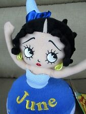 "Nwt Sugar Loaf Betty Boop Birthday Bash June 12"" Cupcake Doll Plush Stuffed"